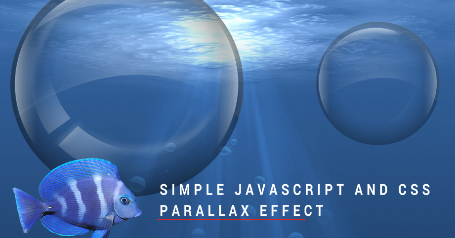 Creating a basic parallax scrolling effect using CSS and JavaScript